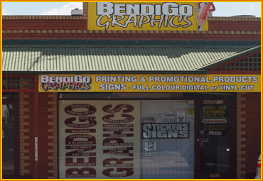 Contact Bendigo Graphics